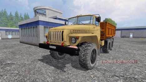 Ural-5557 für Farming Simulator 2015
