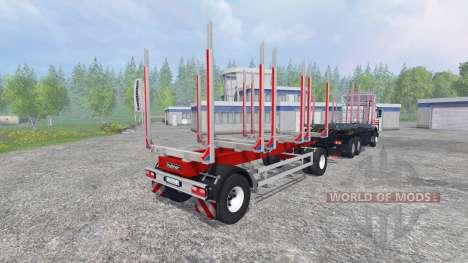 MAZ-6303 [Holz] v4.0 für Farming Simulator 2015