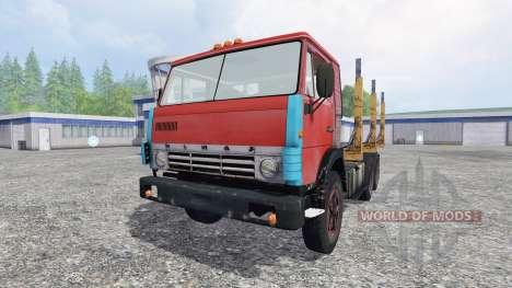 KamAZ 55102 [bois] pour Farming Simulator 2015