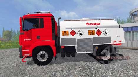 MAN TGA [CEPSA] v2.0 für Farming Simulator 2015