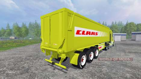 Kenworth T908 [CLAAS] pour Farming Simulator 2015