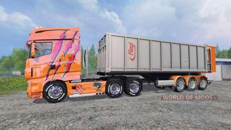 Scania R700 [Cedric Transports] pour Farming Simulator 2015