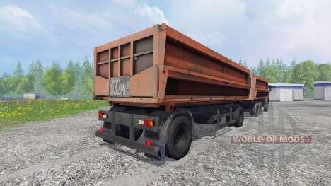 KamAZ-45143 [NefAZ 8560] pour Farming Simulator 2015