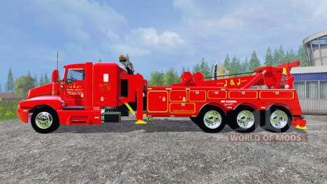Kenworth T600B [tow truck] für Farming Simulator 2015