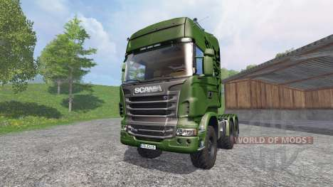 Scania R730 [euro farm] v1.2 für Farming Simulator 2015
