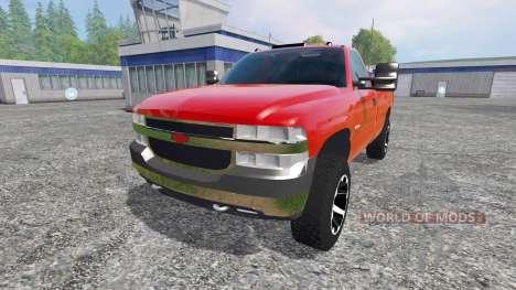 Chevrolet Silverado 2002 v2.0 für Farming Simulator 2015