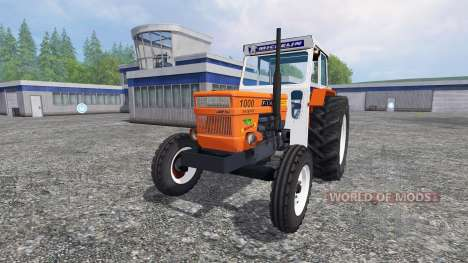 Fiat 1000 super pour Farming Simulator 2015
