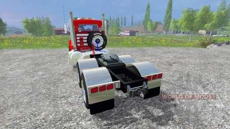 Peterbilt 384 v2.0 pour Farming Simulator 2015