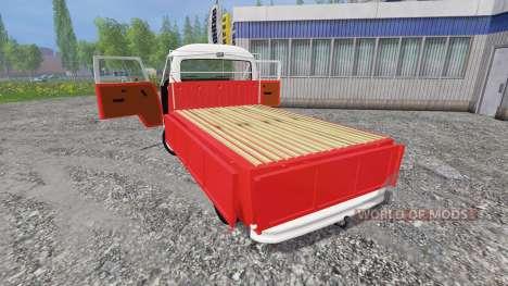 Volkswagen Transporter T2B 1972 für Farming Simulator 2015