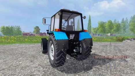 MTZ-Biélorussie 82.1.26.30 pour Farming Simulator 2015