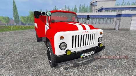GAZ-53 AC-30 für Farming Simulator 2015