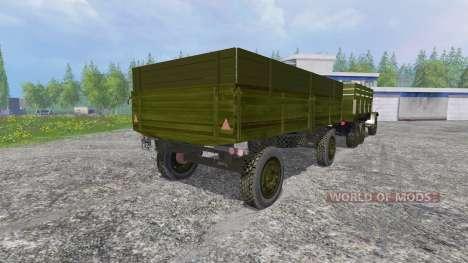 ZIL-157 [GKB-817] v4.0 pour Farming Simulator 2015