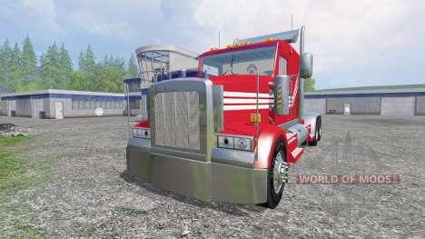 Kenworth W900 v3.0 pour Farming Simulator 2015