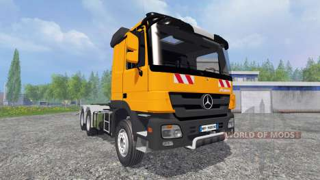 Mercedes-Benz Actros MP3 HKL pour Farming Simulator 2015