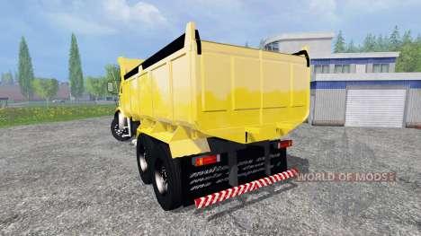 Mercedes-Benz 1513 [dump] pour Farming Simulator 2015