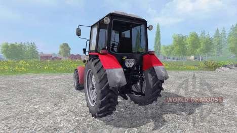 MTZ-Biélorussie 1025 v1.0 pour Farming Simulator 2015