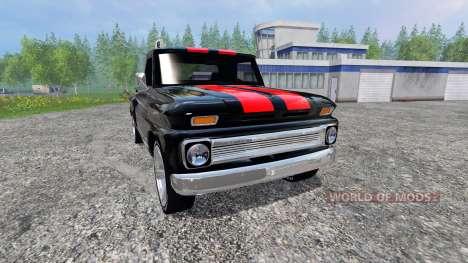 Chevrolet C10 Fleetside 1966 [tuning] v2.0 für Farming Simulator 2015