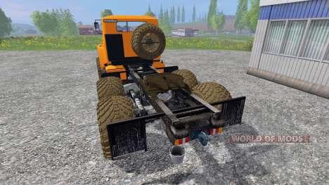 Ural-4320 [tracteur] v3.0 pour Farming Simulator 2015