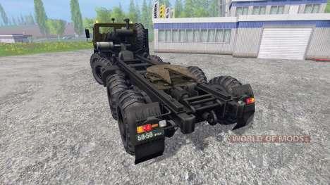 KrAZ-7Э6316 Sibérie pour Farming Simulator 2015