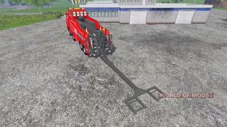 Mercedes-Benz Axor [wrecker] pour Farming Simulator 2015