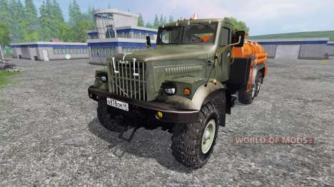 KrAZ-255 B1 6x6 [fuel] pour Farming Simulator 2015