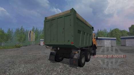 KamAZ-65115 v1.2 für Farming Simulator 2015