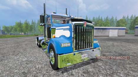 Kenworth W900L 2004 [day cab] pour Farming Simulator 2015