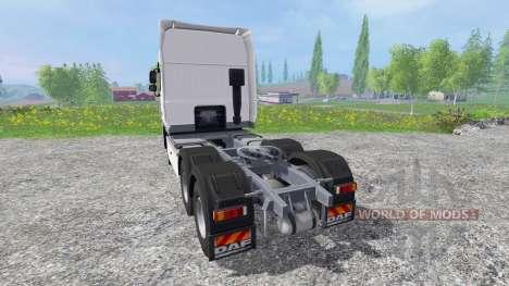 DAF XF105 v0.8 für Farming Simulator 2015