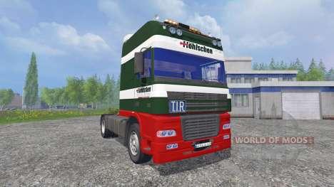 DAF XF95 [Hoehlschen] pour Farming Simulator 2015