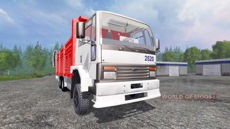 Ford Cargo 2520 v2.0 pour Farming Simulator 2015