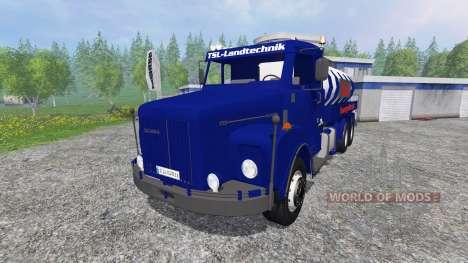 Scania 111S pour Farming Simulator 2015