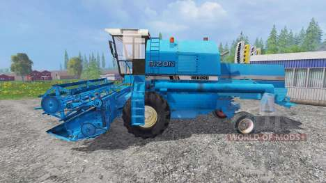 Bizon Z058 [record blue] pour Farming Simulator 2015
