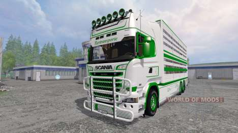 Scania R730 [cattle] für Farming Simulator 2015