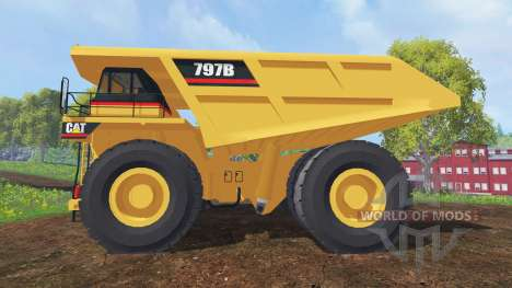 Caterpillar 797B für Farming Simulator 2015