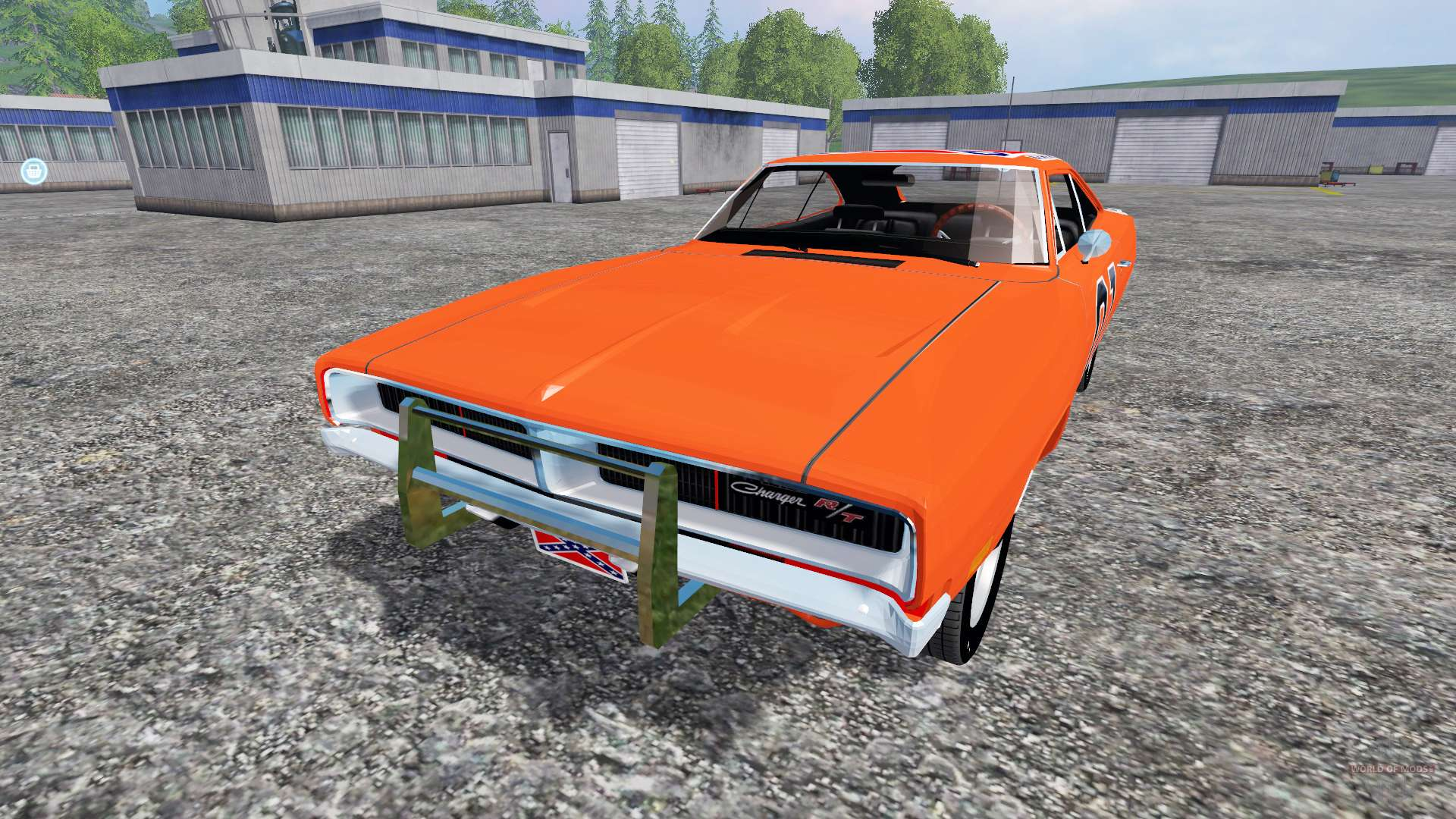 dodge charger rt 1969 general lee pour farming simulator 2015. Black Bedroom Furniture Sets. Home Design Ideas