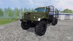 KrAZ-255 B1 [Holz]