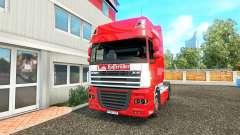 Die Haut auf der Hasseroeder DAF-LKW für Euro Truck Simulator 2