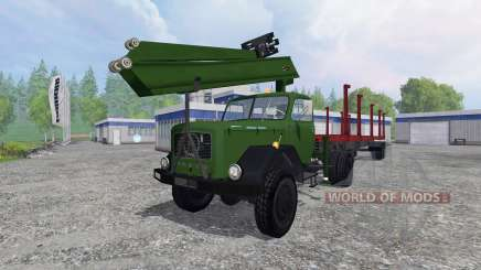 Magirus-Deutz 200D26 1964 [forest] pour Farming Simulator 2015