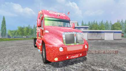 Kenworth T2000 [Coca-Cola Christmas] für Farming Simulator 2015
