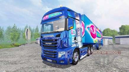 Scania R700 [Fun Radio] pour Farming Simulator 2015