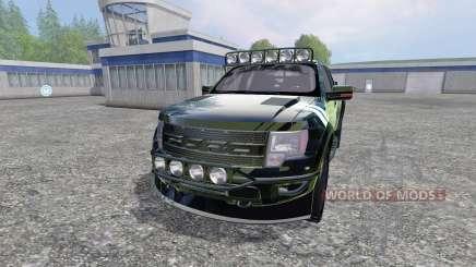 Ford F-150 Raptor [Halo Edition] v1.1 pour Farming Simulator 2015