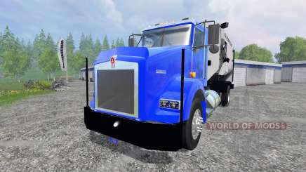Kenworth T800 [feed truck] pour Farming Simulator 2015