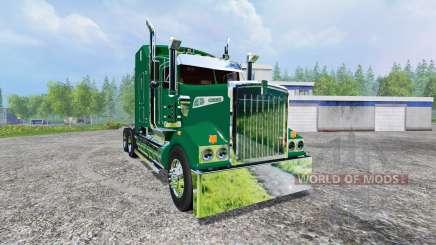 Kenworth T908 [John Deere trailer] v2.0 für Farming Simulator 2015