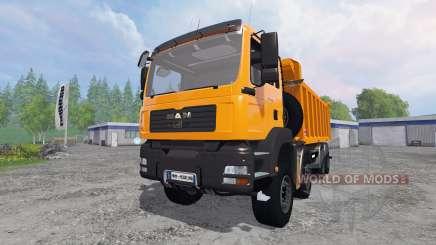 MAN TGA 8x8 [tipper] für Farming Simulator 2015