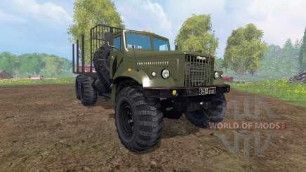 KrAZ-255 B1 [Holz] v2.0 für Farming Simulator 2015