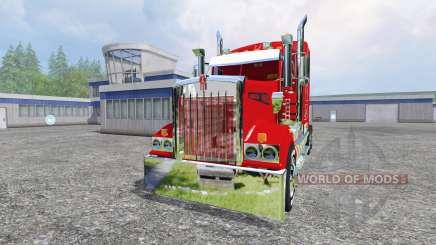 Kenworth T908 [Coca-Cola trailer] für Farming Simulator 2015