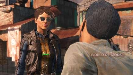 Die spiegelung in der Brille für Fallout 4