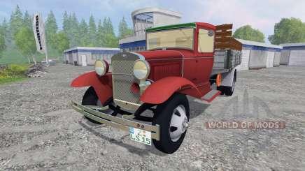 Ford Model AA [pack] für Farming Simulator 2015