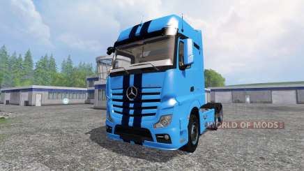Mercedes-Benz Actros MP4 v1.1 für Farming Simulator 2015