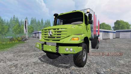 Mercedes-Benz Zetros 1833 [forest] v2.0 für Farming Simulator 2015